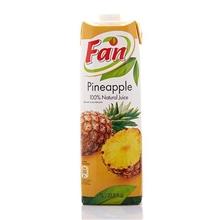 塞浦路斯进口Fan纯果芬100%菠萝汁1L