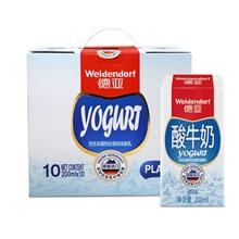 德亚酸牛奶(200mlx10礼盒)/盒