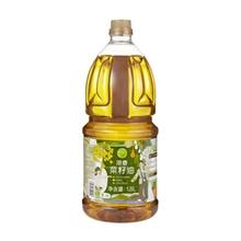 初萃浓香菜籽油1.8L