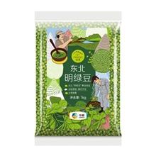 初萃 东北明绿豆1kg