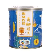 梅林柠檬黄桃罐头312g
