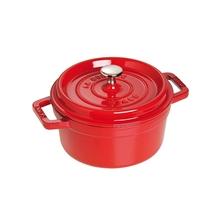 Staub法国进口铸铁锅(20厘米樱桃红)