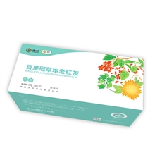 百果冠草本老红茶100g